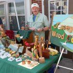 Branchville, NJ: Art Festival Wood Cariving
