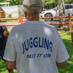 Branchville, NJ: Art Festival Juggling
