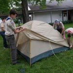 Branchville, NJ: Scouting Tent