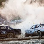 Branchville,NJ: State Fair Demolition Derby by Joe Guerriero